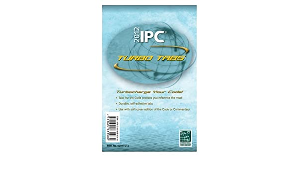 2012 International Plumbing Code Turbo Tabs for Paper Bound Edition (International Code Council Series) by International Code Council (2011-07-12) Book ...