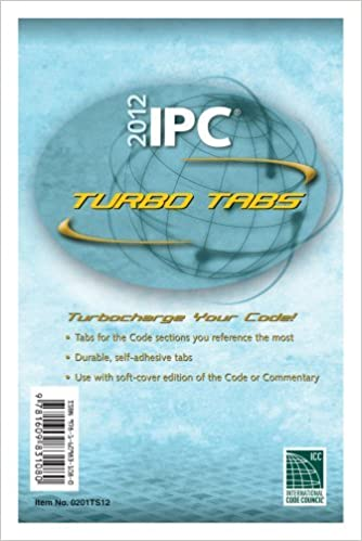 2012 International Plumbing Code Turbo Tabs for Paper Bound Edition (International Code Council Series) by International Code Council (2011-07-12): ...
