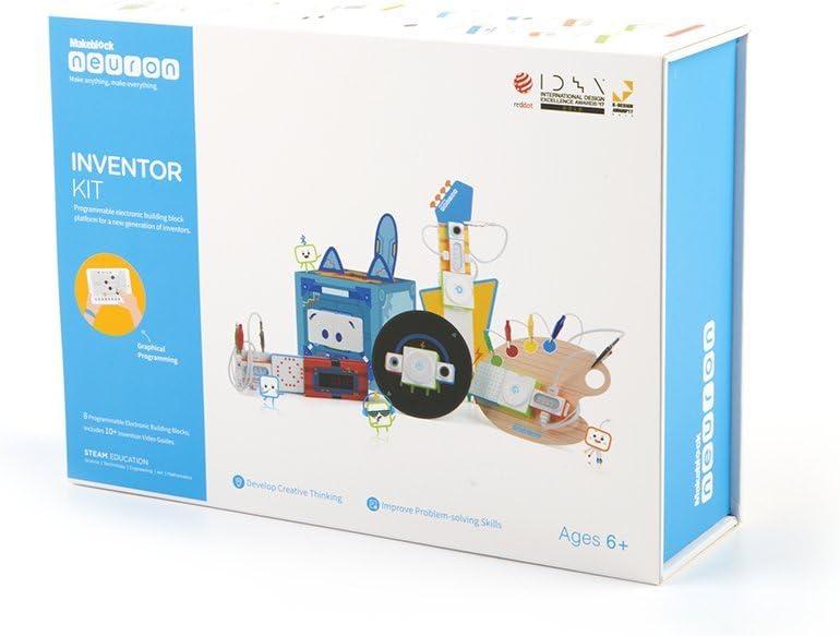 Makeblock- Neuron Inventor Kit (BXMANEU): Amazon.es: Juguetes y juegos