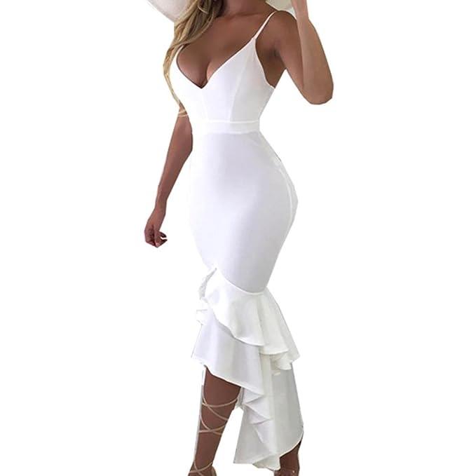 Vestidos Corto Mujer Verano 2018 Casual Vestido De Una Sola Pieza Sin Mangas con Cuello En