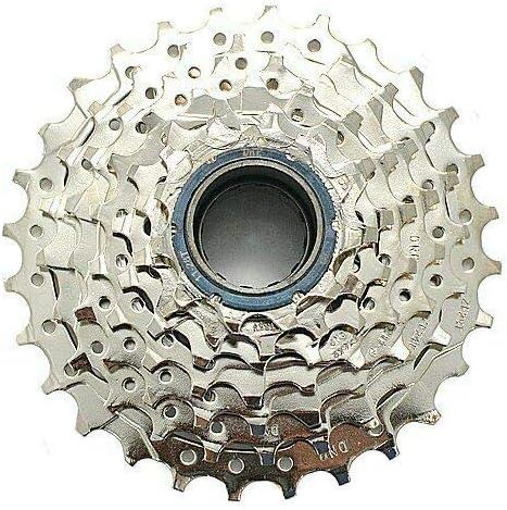 DNP 7-Speed Epoch Screw-on MTB Bike Freewheel Nickel Plate 11-28T Shimano Sram
