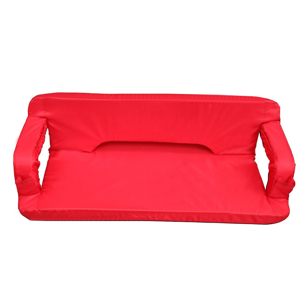 GoTeam Portable Reclining Anywhere Loveseat - Red by GoTeam (Image #1)