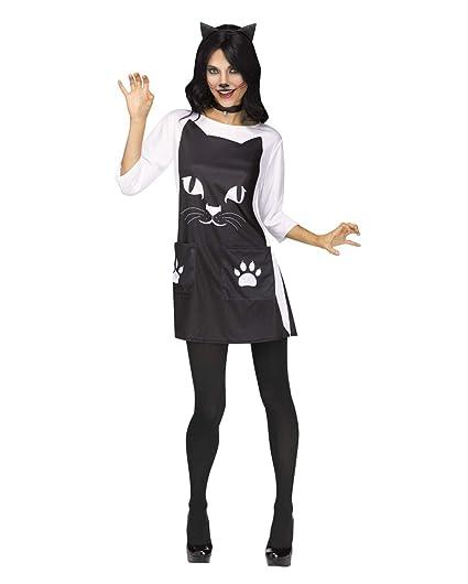 Horror-Shop Traje De Gato Felino Chic para Adultos S/M ...
