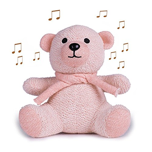 Mini Bluetooth Speaker, Sysmarts Cute Bear Toys Portable Wireless Bluetooth Mini Speaker Gift for Women,Girls, Kids, Children, Baby (Pink) by Sysmarts