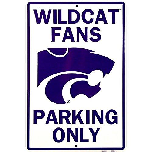 - Signs 4 Fun Spcnwu Kansas State Wildcats Fans, Large Parking Sign