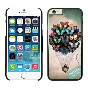 nice diy case pc hard for apple iphone6 4.7 black by runtopwell