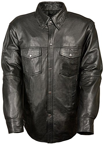 Leather Riding Shirt - 5