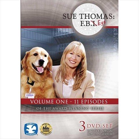 Harris Communications DVD435 Sue Thomas - F.B.Eye Volume 1 3-DVD Set