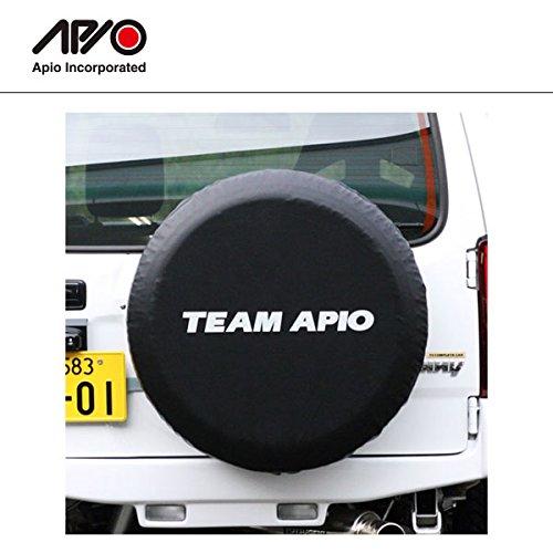 APIO アピオ ジムニー [汎用] スペアタイヤカバー TEAM (スズキジムニー純正タイヤ「175/80R16」サイズ専用) B0773CJCPM