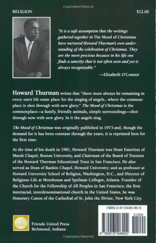The Mood of Christmas & Other Celebrations: Howard Thurman ...