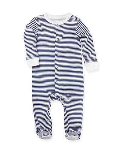 12|12 Unisex Baby Footed Pajamas, 100% Organic Pima Cotton