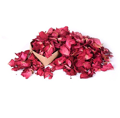 Sykdybz 50G Dried Rose Women Massager Wedding Accessories Petals Bath Spa Shower Tool Natural Dry Flower Fragrant Whitening Bath Tools