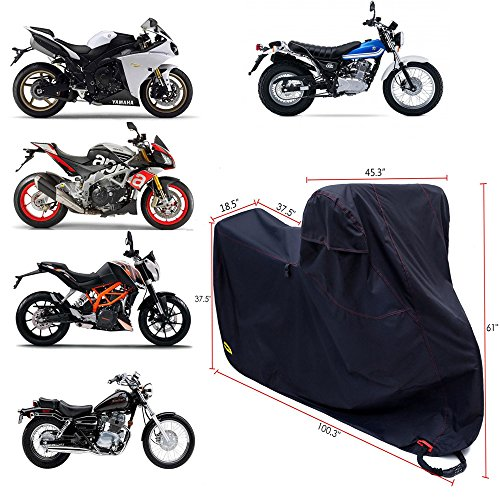 Ohuhu Motorcycle Cover Waterproof Dty Amp 300d Oxford