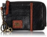 The Sak Iris Card Wallet, Black Onyx, One Size