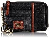 The Sak Iris Card Wallet, Black Onyx, One Size