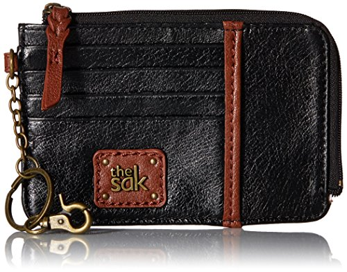 The SAK Iris Card Wallet, Black Onyx