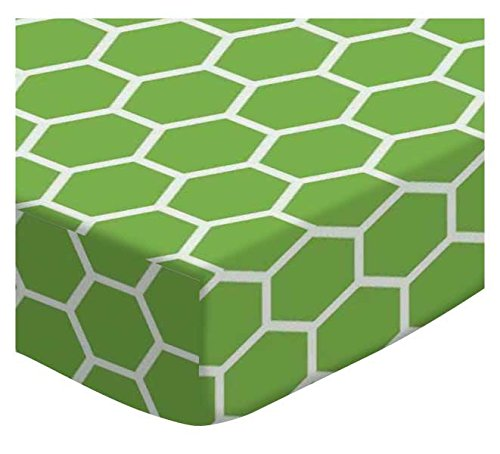SheetWorld-Fitted-Cradle-Sheet-Citrus-Honeycomb-Made-In-USA