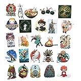 100PCS Cartoon Japanese Anime Stickers Lovely Boy