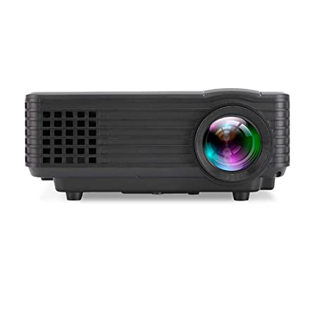 QLPP Proyector de vídeo 800Lumen, 18000k Color Full HD con ...