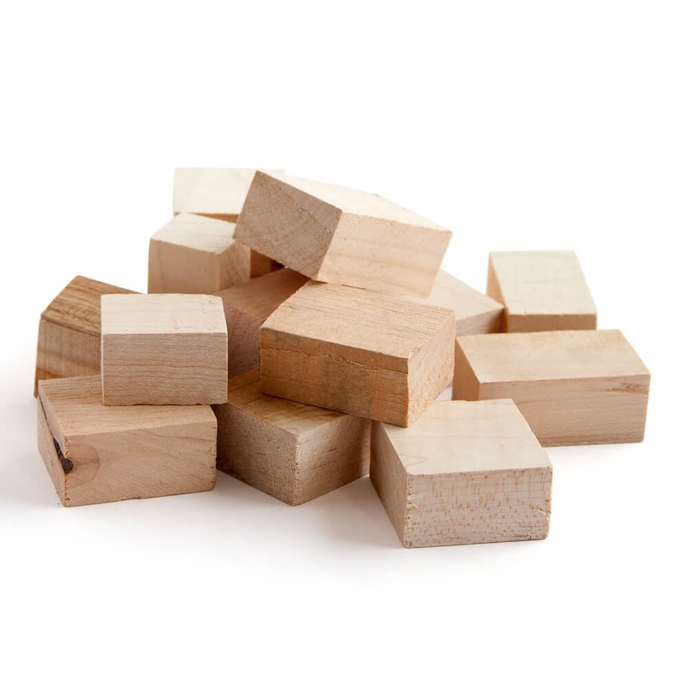 Wood Fire Grilling Co. Smoking Blocks - Maple Wood Chunks for Smoking (10 pounds)