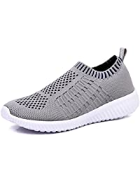 Women's Athletic Shoes Casual Mesh Walking Sneakers -...