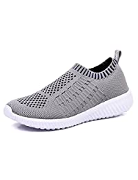 TIOSEBON Women's Athletic Shoes Casual Mesh Walking Sneakers - Breathable Running Shoes