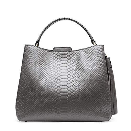 Lxf20 Gray D'épaule Grand Et Américain Bag PU Sac Main Femmes Européen Sac Sac Messenger Style Dames À Sac 61wrTq4p6