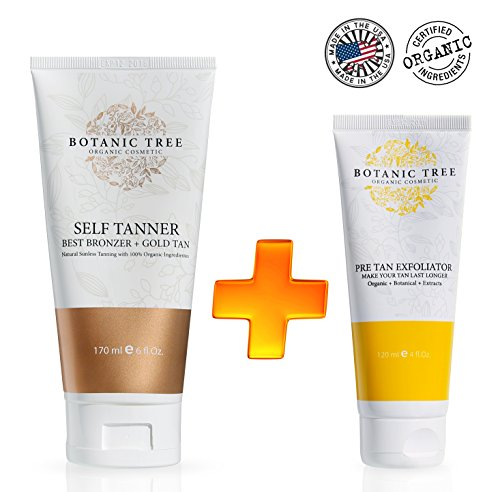 Botanic Tree Exfoliator Natural Sunless product image