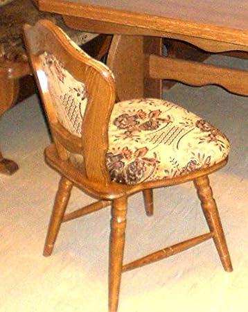 2 Stühle   Stühle Sind In Buche Auf Eiche Rustikal P43 Gebeizt   2  Esszimmerstühle
