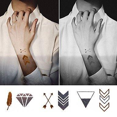 MZP 1 Tatuajes Adhesivos Series de AnimalBebé / Niños / Mujer ...