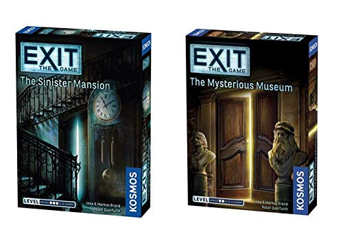 Thames & Kosmos Exit 2 Game Bundle: The Sinister Mansion and The Mysterious (Best Big Bundles Of Games)