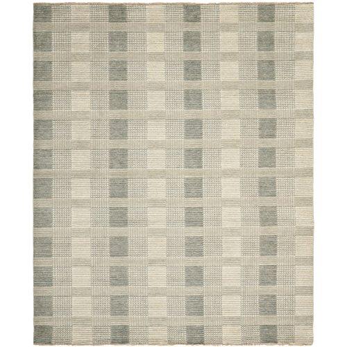 Safavieh Tibetan Collection TIB332B Hand-Knotted Grey Wool Area Rug (8' x 10')