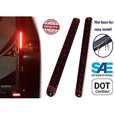 Autosmart 2PCS Red 17