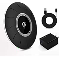 Blavor Qi Wireless Charging Pad Compatible with All Qi-Enabled Phones