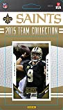 New Orleans Saints 2015 Score Factory Sealed NFL Football Complete Mint 14 Card Team Set with Drew Brees Andrus Peat Rookie Plus