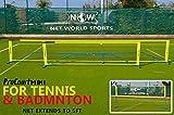 ProCourt Mini Tennis-/Badmintonset [Net World Sports] (Tennis-/Badminton Set 9.1m)