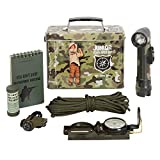 kids army gear - Kids Army Camouflage Junior Explorer Kit, In A Camo Tin - Kids Army Roleplay