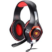 [Patrocinado] Diadema Gaming, turnraise cada G90003.5mm Juego Gaming Headphone Headset Earphone Headband