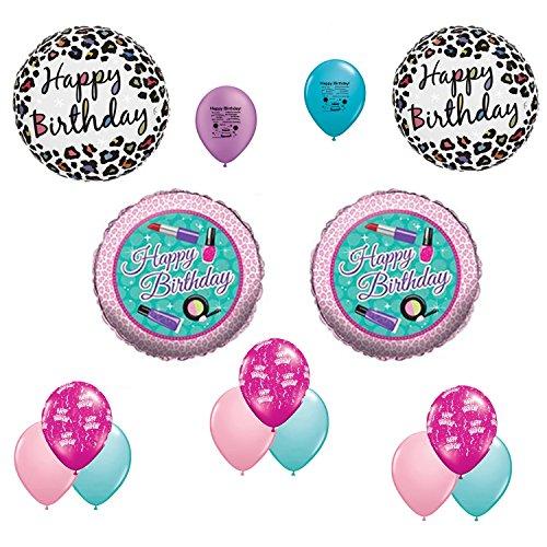 Makeup Spa Happy Birthday Balloon Decorating Kit
