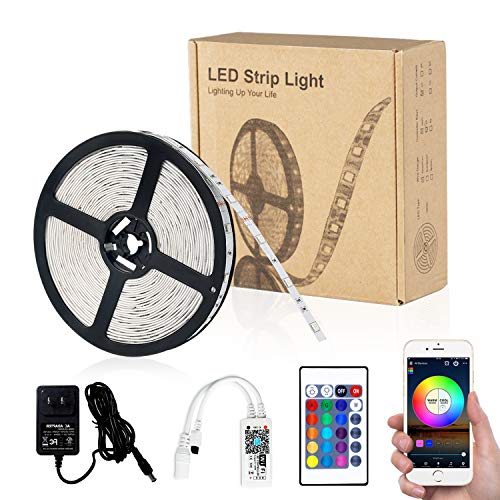 WiFi 16.4ft 150LEDs IP65 Waterproof RGB SMD 5050