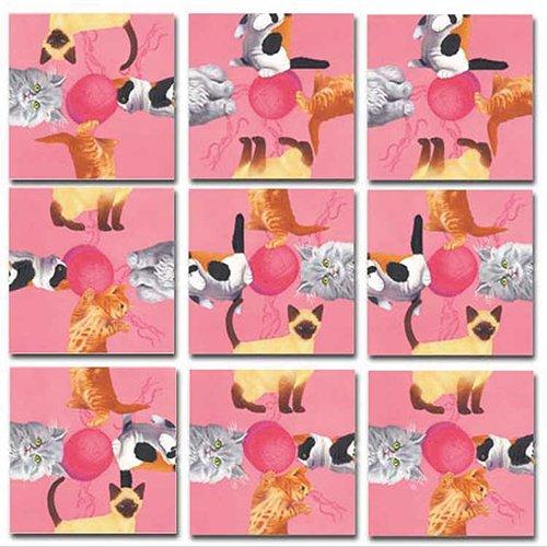 Nine Square (B.Dazzle Scramble Squares: Kittens)