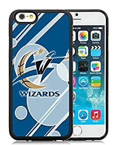 New Custom Design Cover Case For iPhone 6 4.7 Inch Washington Wizards 12 Black Phone Case
