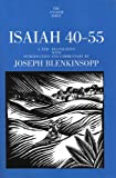 img - for Isaiah 40-55 (The Anchor Yale Bible Commentaries) (Volume 19A) book / textbook / text book