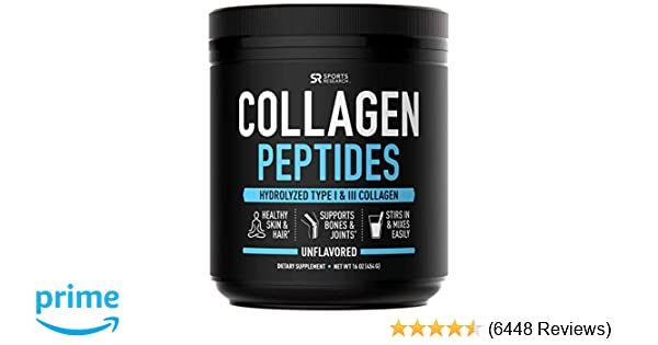 Amazon.com: Collagen Peptides Powder (16oz) | Grass-Fed, Certified Paleo Friendly, Non-Gmo and Gluten Free - Unflavored: Health & Personal Care