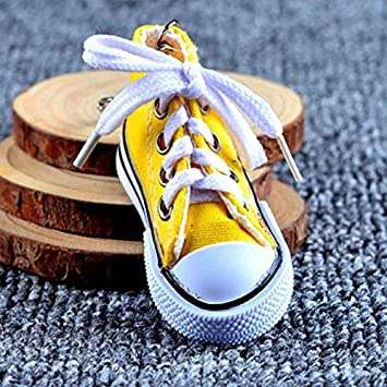 Amazon.com: 1PC Sneaker Keychain Key Chains for Kids Canvas ...
