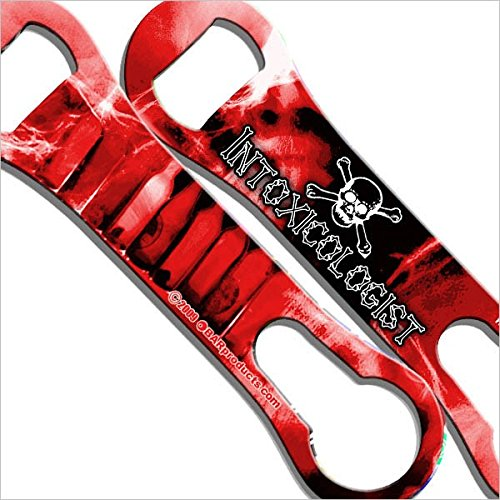 BarConic Kolorcoat V-Rod Bottle Openers - Red Intoxicologist