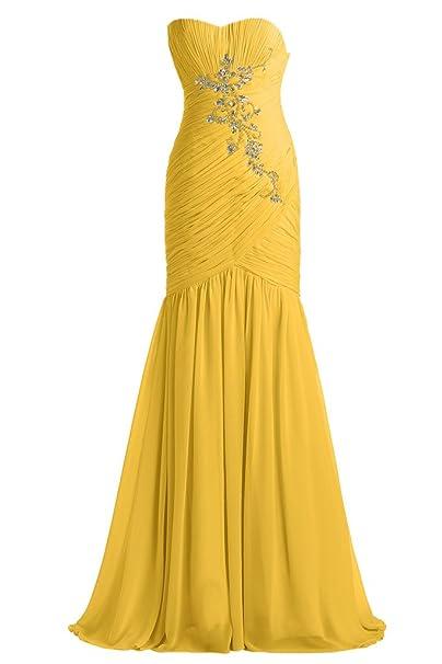 Sirena de la gasa nupcial elegante Toscana por la noche vestidos de piedras bola vestidos de