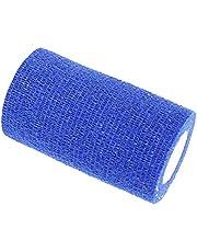 Bhuuno Vet Wrap Tape Self-Adhesive Self Adherent Adhering Flex Bandage Rap Grip Roll for Dog Cat Pet Horse