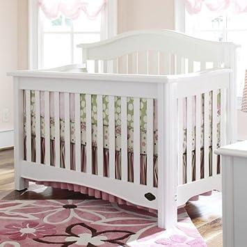 Wonderful Bonavita Hudson II Lifestyle Crib, Classic White