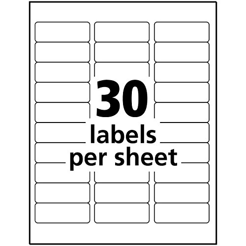 "Avery Glossy Crystal Address Labels for Laser & x 2-5/8"", 300 Labels"
